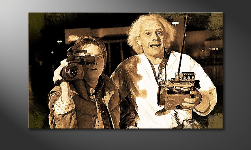 Art print Back To the Future Moment 100x60cm