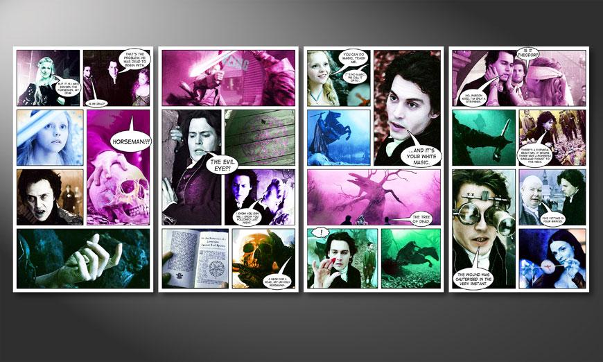 Art print Sleepy Hollow 160x70x2cm
