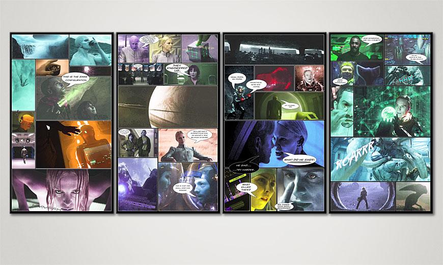 Classy Canvas print Prometheus 160x70x2cm