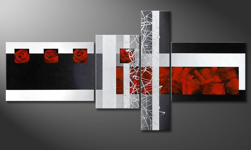 Fameless Emotions 160x80x2cm wall art