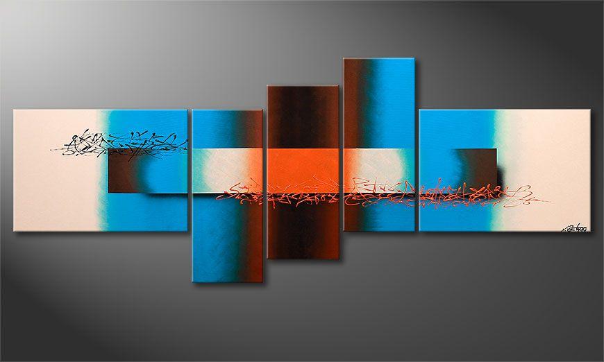 Large scale art print Summer Spirit 230x90x2cm