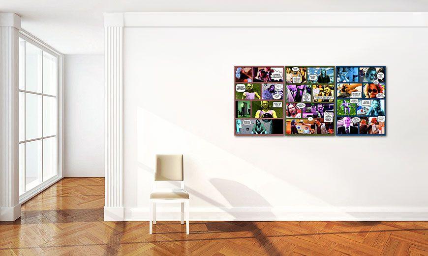 living room art big lebowski 150x70cm paintings xxl