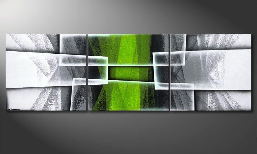 Living room art Quiet Hope 210x70x2cm