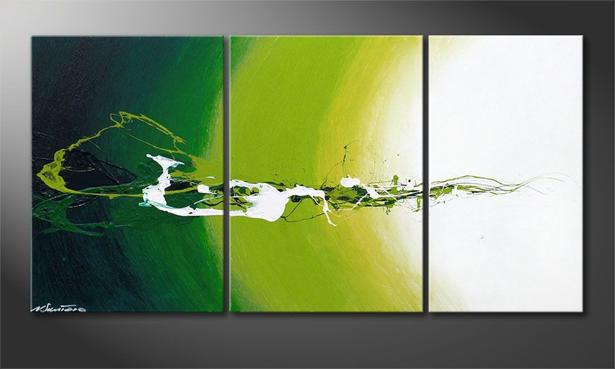Modern painting Power of Nature 140x70x2cm