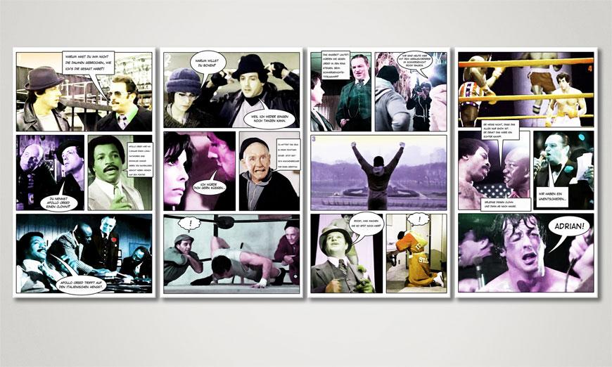 Modern print Rocky I 160x70x2cm