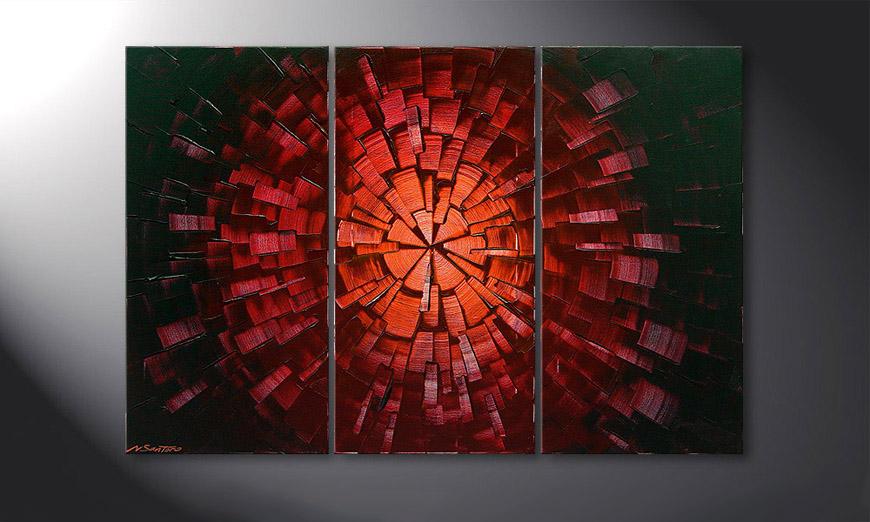 Painting Center of Glow 120x80x2cm