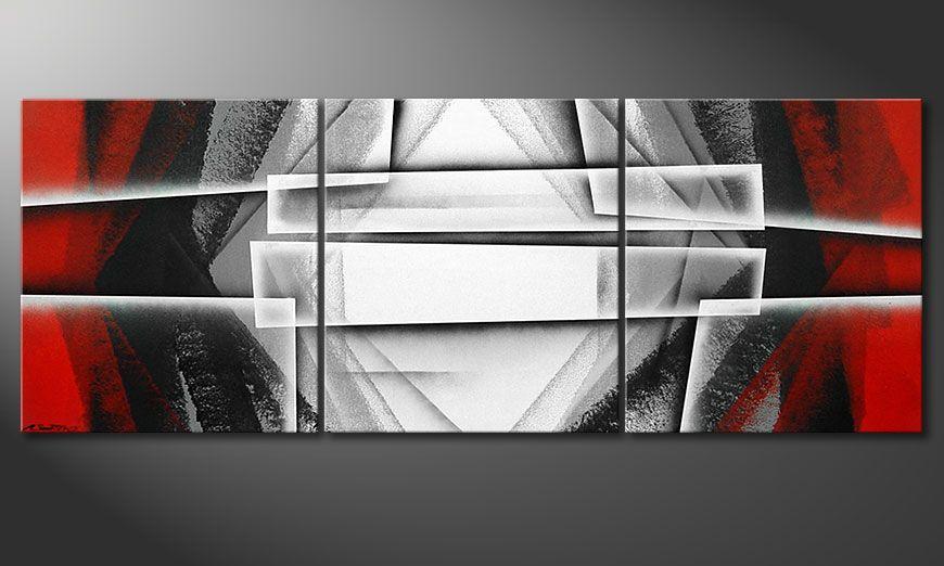 Painting Deep Silence 180x70x2cm