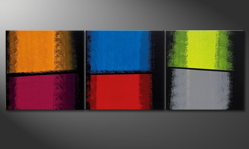 Painting Departed Colors 210x70x2cm