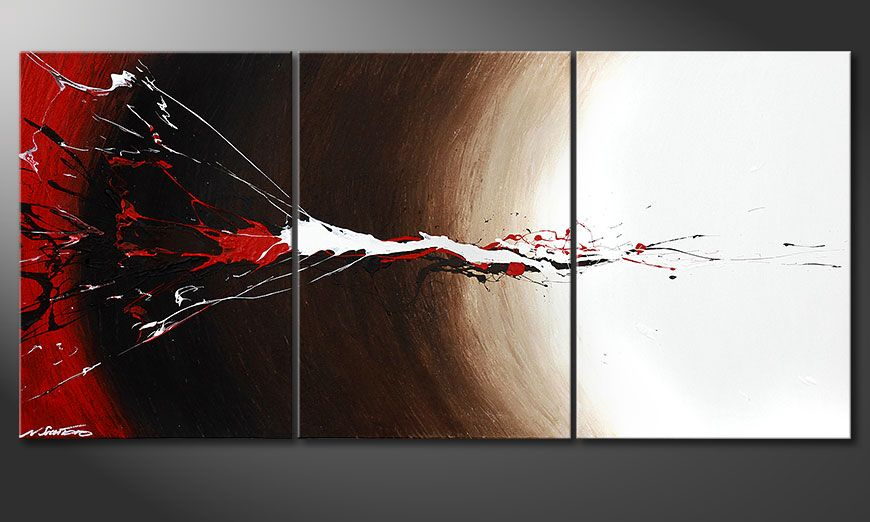 Painting Erupted Contrast 150x70x2cm