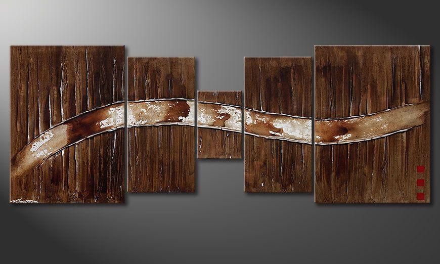 Painting Frozen Moments 180x70x2cm