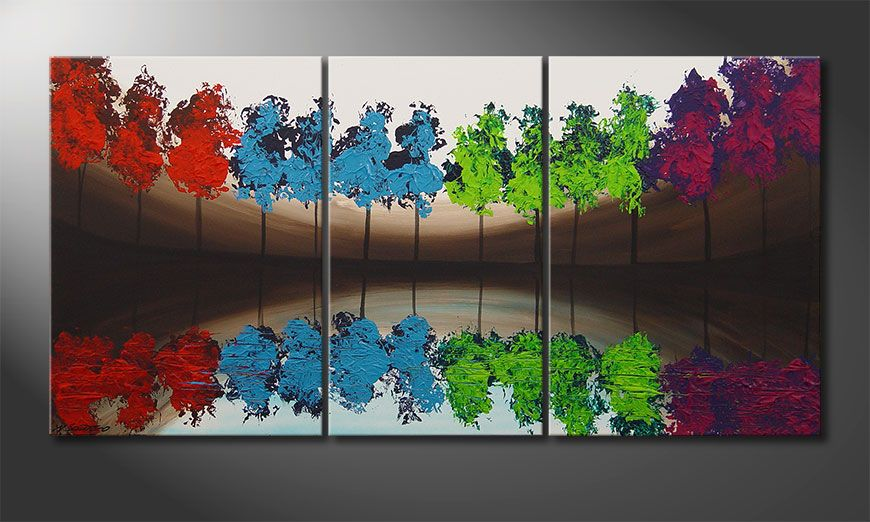 Painting MiracleTrees 140x70x2cm