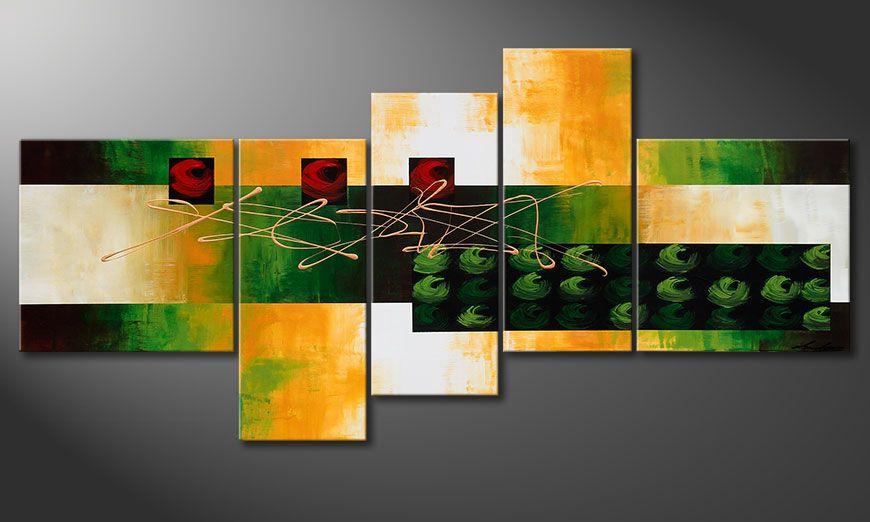 Painting Quiet Love 190x90x2cm print