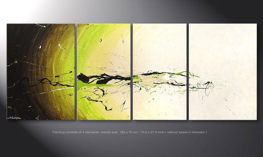 Painting Spirit of Nature in 180x70x2cm