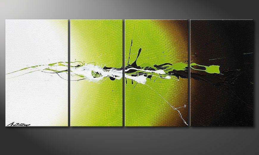 Wall art painting Juicy Splash 115x50x2cm