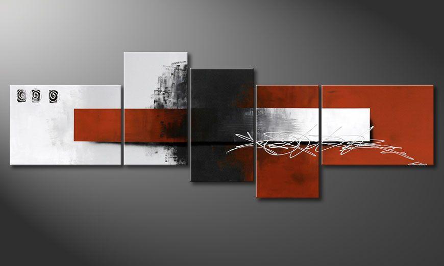 XXL painting Follow your Dream 260x90x2cm