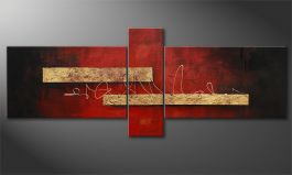 Wall art<br>'Sense of Delight' 230x90cm