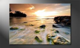 Canvas print<br>'Stoned Sunset'