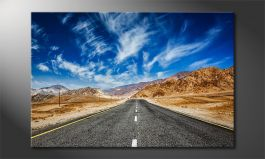 Canvas print<br>'Road to Nowhere'