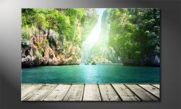 Canvas print<br>'Rocks on Railay'