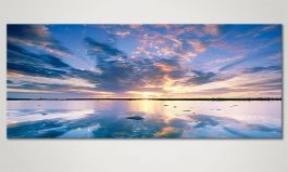 Art print<br>'Heaven on Earth' in 120x50cm