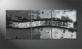 Our wall-art 'Between Contrasts' 170x70cm
