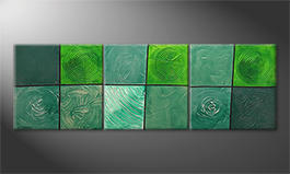 Our wall-art 'Childs Of Nature' 210x70cm