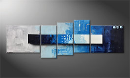 Our wall-art 'Deep Water' 210x70cm