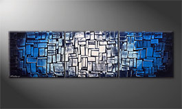 Our wall-art 'Emersion' 210x60cm