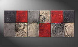 Our wall-art 'Emotional Moments' 180x70cm