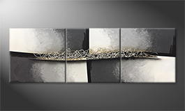 Our wall-art 'Frozen Melody' 210x70cm