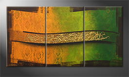 Our wall-art 'Golden Spring' 180x80cm