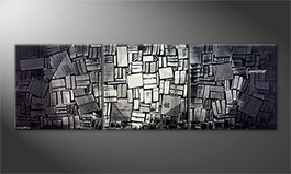 Our wall-art 'Moonlit Night' 240x80cm