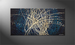 Our wall-art 'Power Of Water' 100x50cm