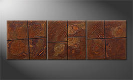 Our wall-art 'Rusty Moments' 210x70cm