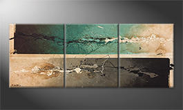 Our wall-art 'Splashy Moments' 180x70cm
