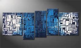 Our wall-art 'Splited Water' 190x80cm