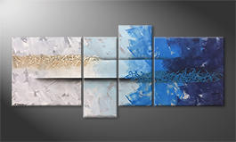 The exclusive painting 'Caught Wave' 180x80cm