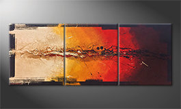 The nice painting 'Set On Fire' 180x70cm