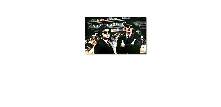 Art print Blues Brothers Moment in 100x60cm