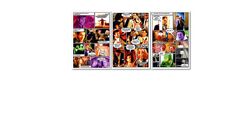 Large art print Good Fellas 180x90cm