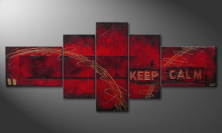 Keep Calm 260x110x4cm
