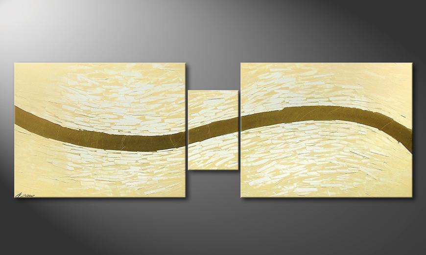 Modern Painting Gentle River 230x80x2cm