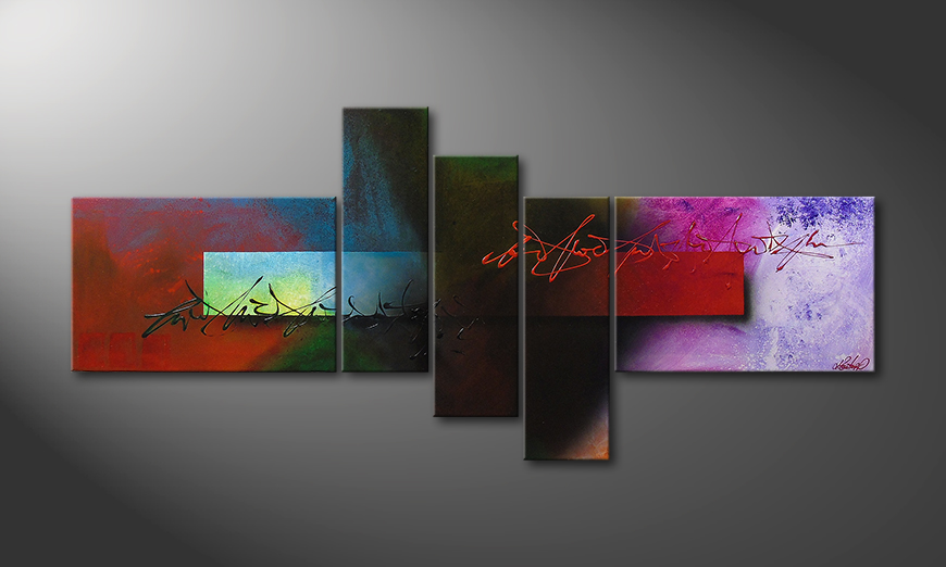Modern painting Outer Space 180x80x2cm