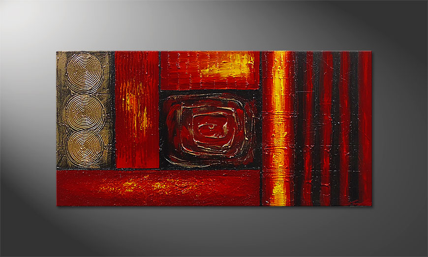 Painting Emotional Moments 120x60x2cm