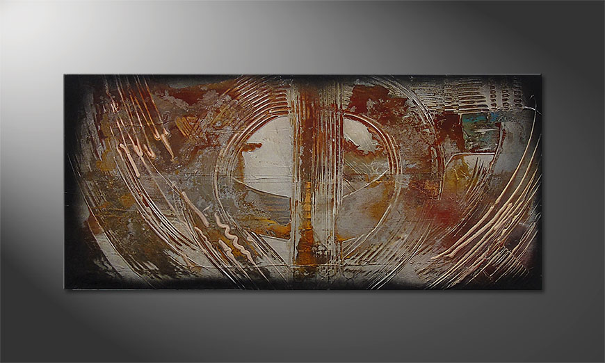 Traces of Past 110x50x2cm