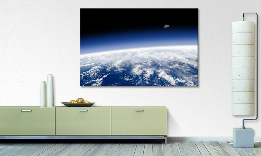 Above the Sky Print Art