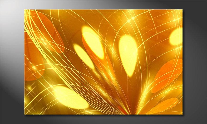 Abstract art print Abstract Lights