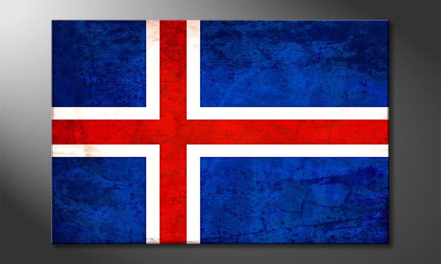Art Print Iceland