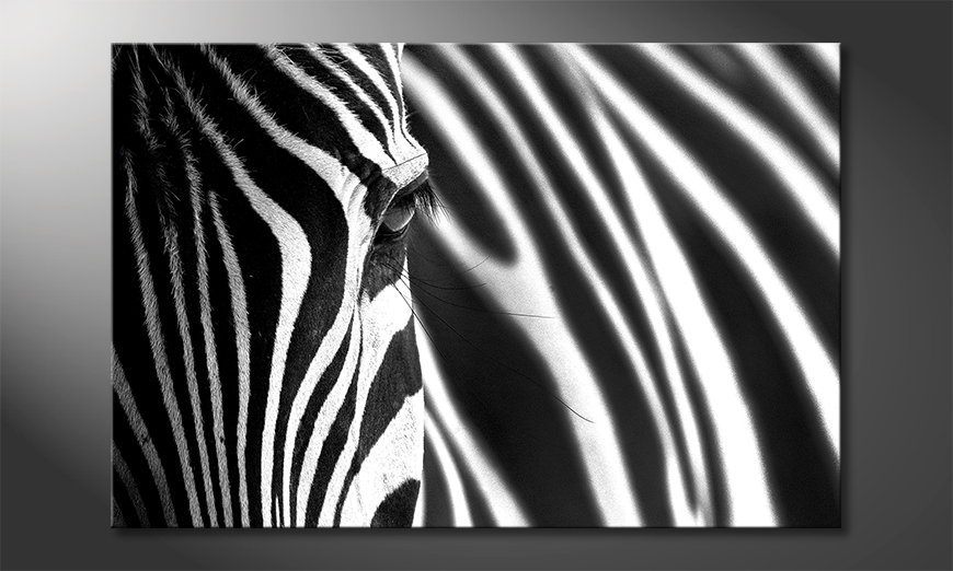 Art-print-Animal-Stripes