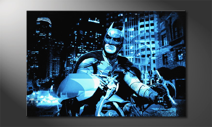 Art-print-Batman-The-Dark-Knight